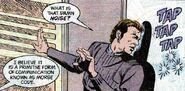 Morse code DC Comics