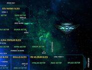 Romulan Star Empire map 2409