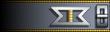 Shoulder strap rank insignia.