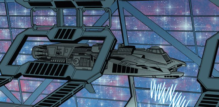 Unnamed Monarch class starships