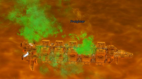 Zora's freighter