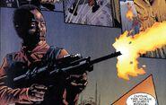 Machine gun Marvel Comics