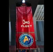 3rd fleet banner red