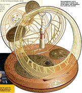Saltah'na clock drawing