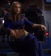 Imperial Starfleet female command uniform, 2155