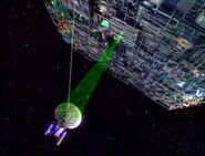 Borg cutting beam, activating