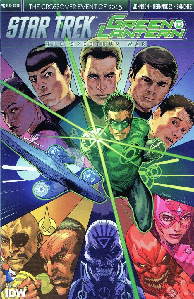 The Spectrum War, Issue 6
