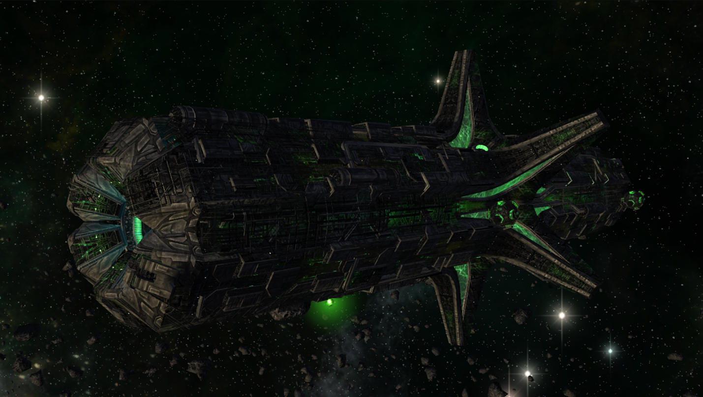 Borg command ship