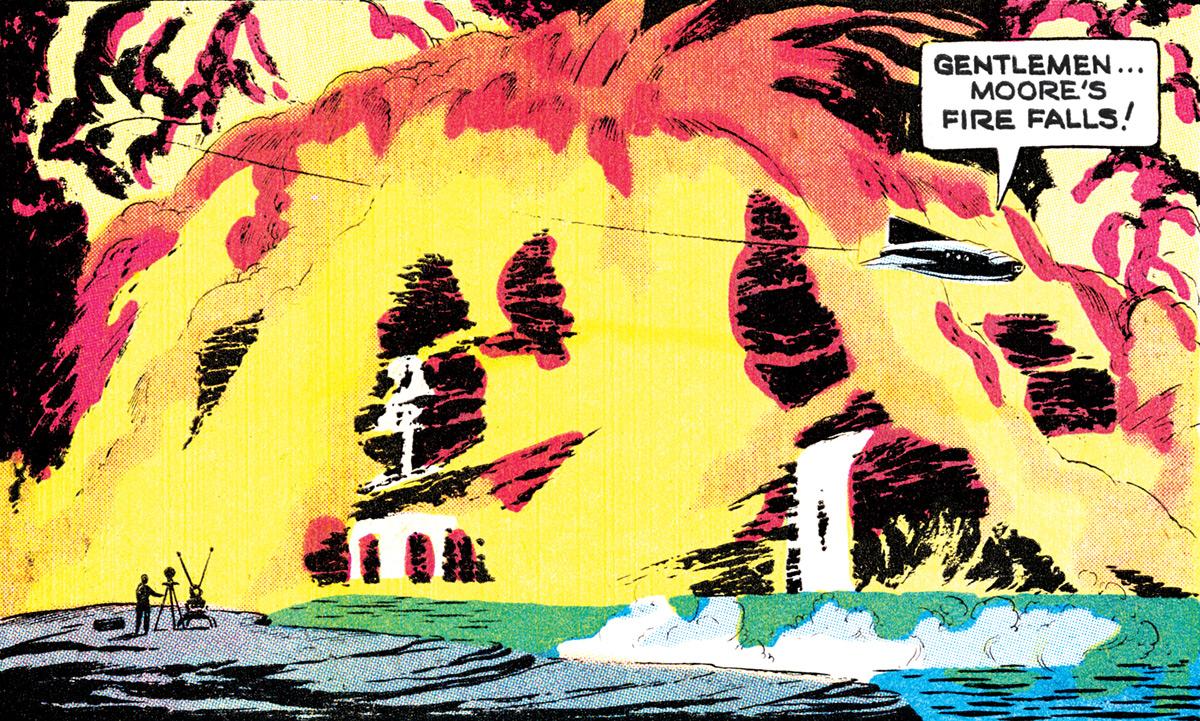 Moore's Fire Falls