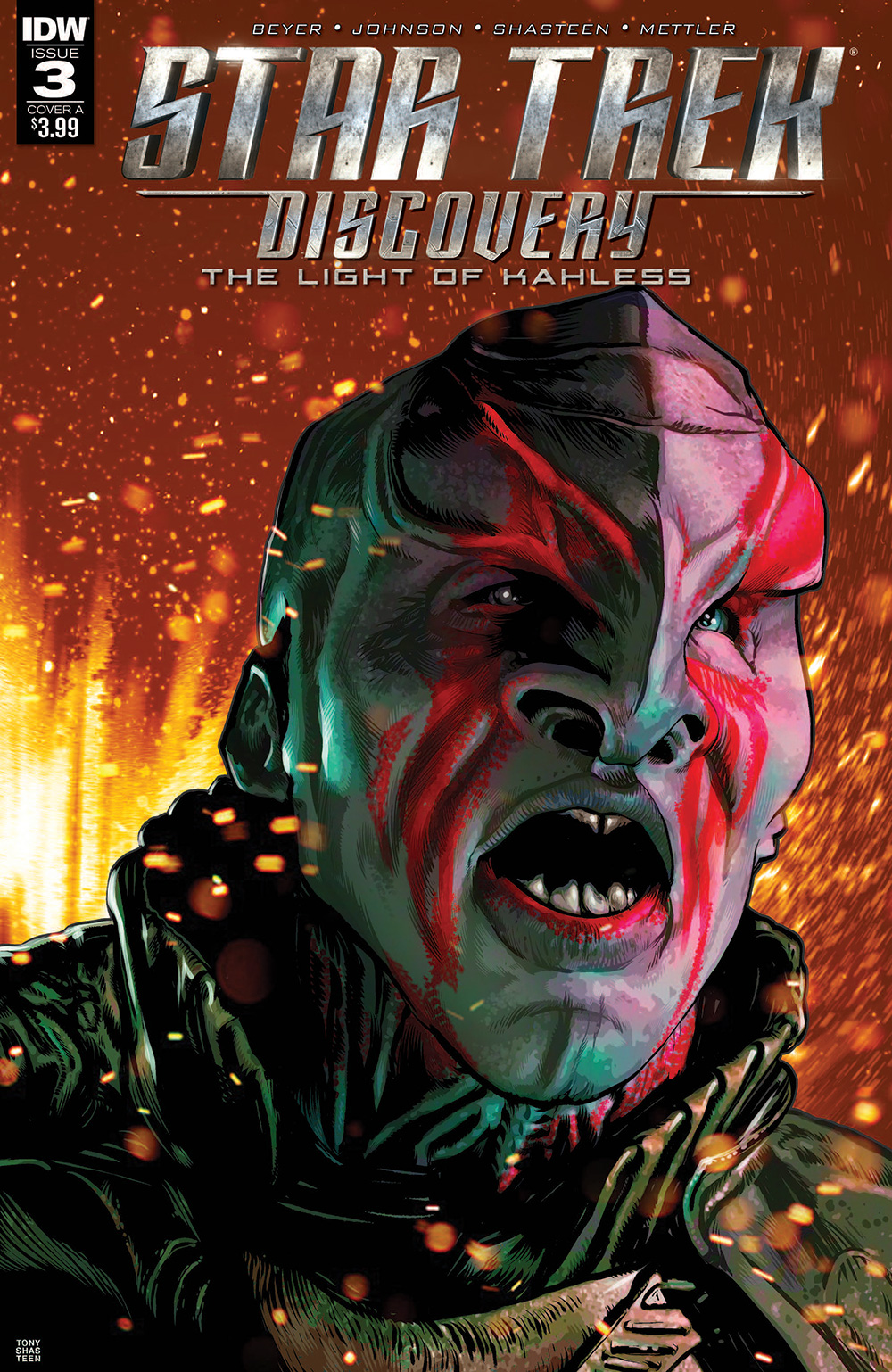The Light of Kahless, Issue 3