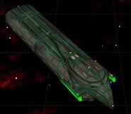 Romulan construction ship