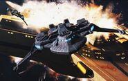 Maqui attacking a Cardassian ship