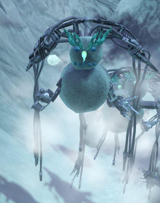 Airborne snow monstrosity