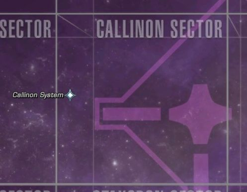 Callinon sector