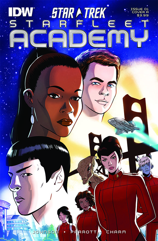 IDW Starfleet Academy, Issue 1
