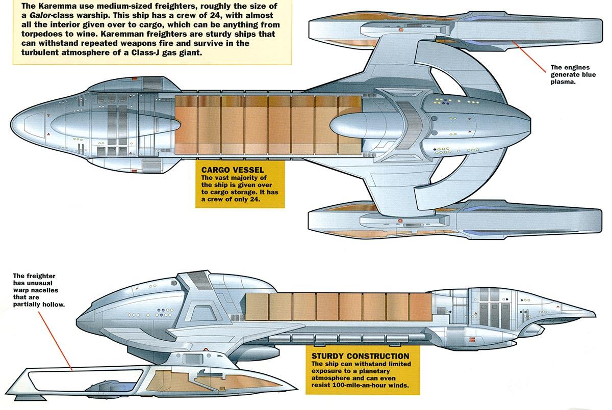 Karemma starship
