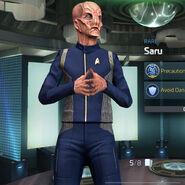 Fleet command Saru