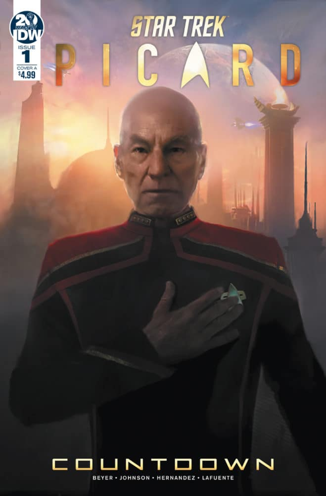 Picard: Countdown, Issue 1