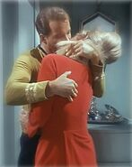 Janice Rand encounters Duplicate Kirk