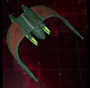 Romulan repair ship