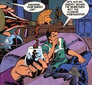 Rigelian Comfort DC Comics