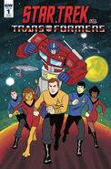 Star Trek vs. Transformers 1 RI B