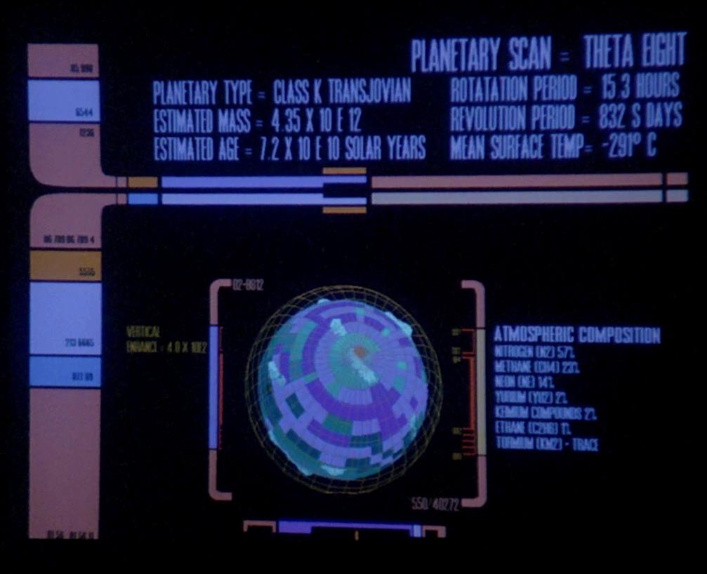 Class K transjovian planet