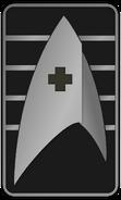 Starfleet Ranks 2250s Medical Division - Cadet Senior