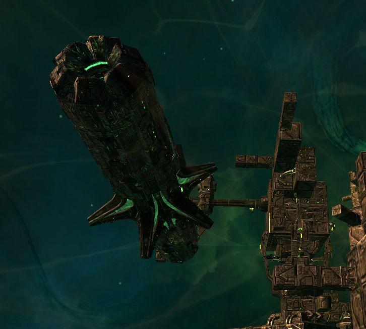 Vessel One of Two Unimatrix 8472