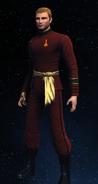 Imperial Starfleet security uniform, 2280s