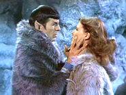 Spock and Zarabeth