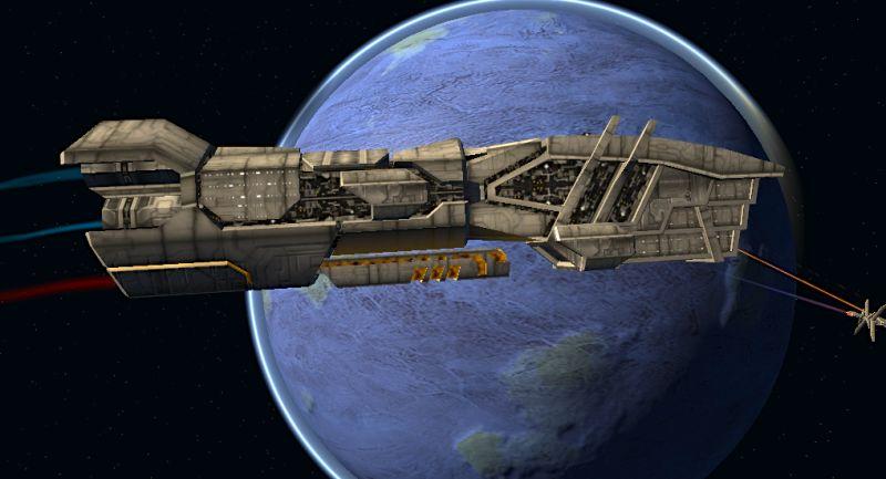 Acamarian battleship
