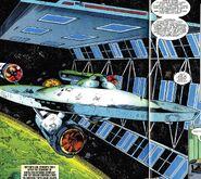 Repair scaffold Marvel Comics