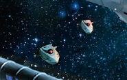Interferenz-shuttlepods