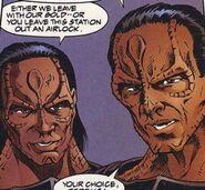 Cardassians malibu comics