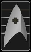 Starfleet Ranks 2250s Medical Division - Cadet Junior