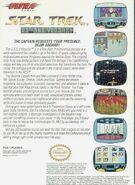 Star Trek 25th Anniversary NES - back