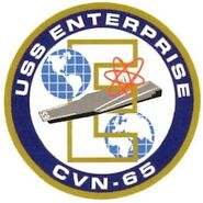 USS Enterprise (CVN-65) emblem