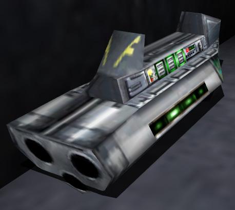 Polaron weapon