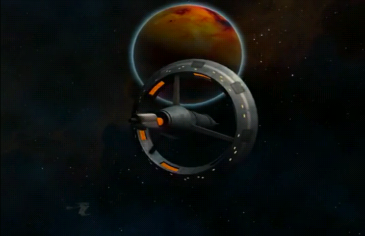 Klingon weapon platform