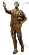 Zephram Cochrane statue
