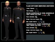 SF flag officer uniforms