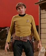 Chekov as William Claiborne