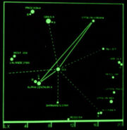 Wolf 359 star map