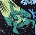 Nasgul fighter DC Comics