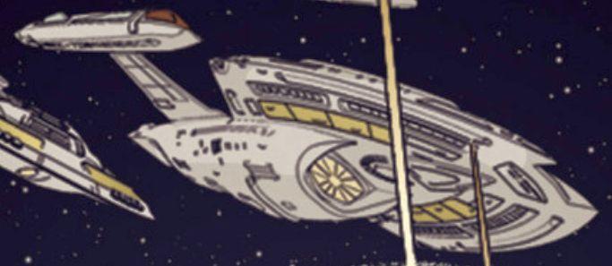Unnamed Nova class starships