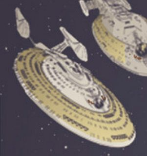 Unnamed Sovereign class starships