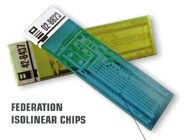 Isolinear chips