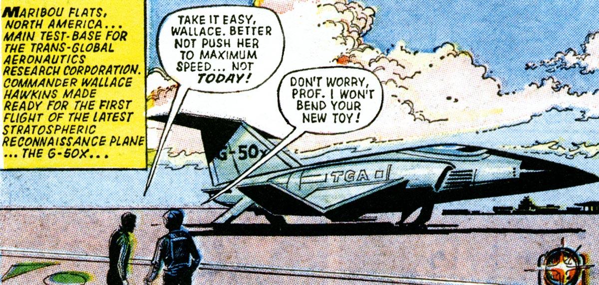 G-50X rocket plane
