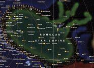 Romulan Star Empire map 2371